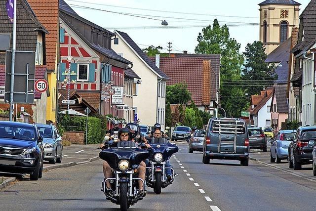 Biker suchen das Gespräch