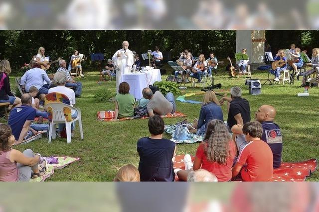 Gemeinsam feiern im Freien