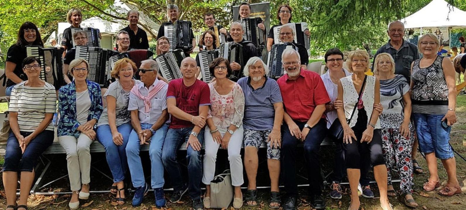 Zur Partnerschaft gehört auch der Besu...in Gréoux-les-Bains wie zuletzt 2018.     Foto: privat