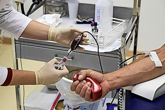Blut spenden in Oberbergen
