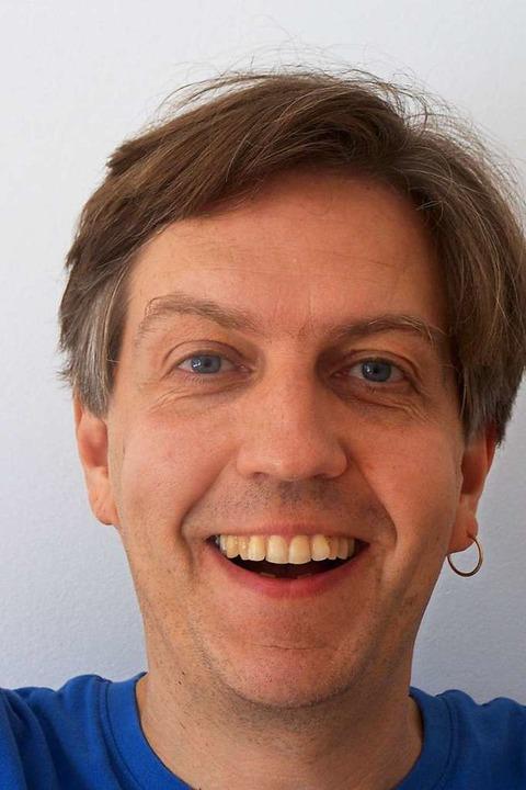 Markus Günther aus Merzhausen organisiert Online-Kuschelpartys.  | Foto: Markus Günther