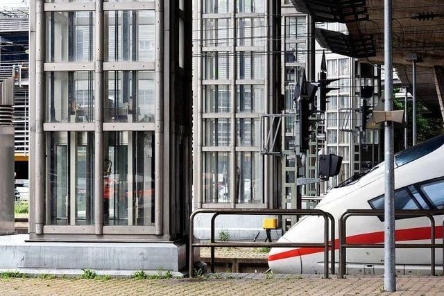 Pannenaufzüge am Freiburger Hauptbahnhof sollen früher als geplant renoviert werden