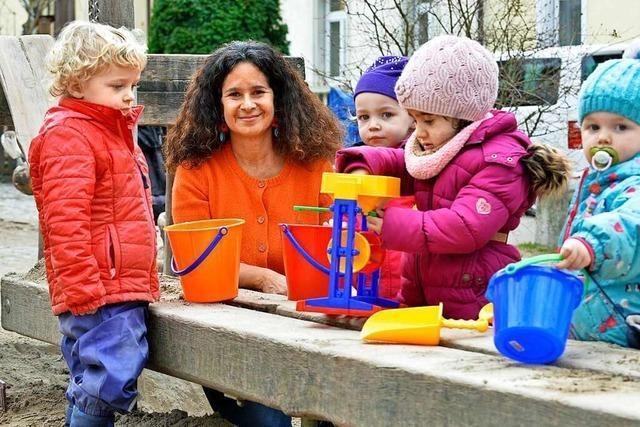 Die Kindergruppe am Annaplatz ist in der Wiehre seit 25 Jahren fest etabliert