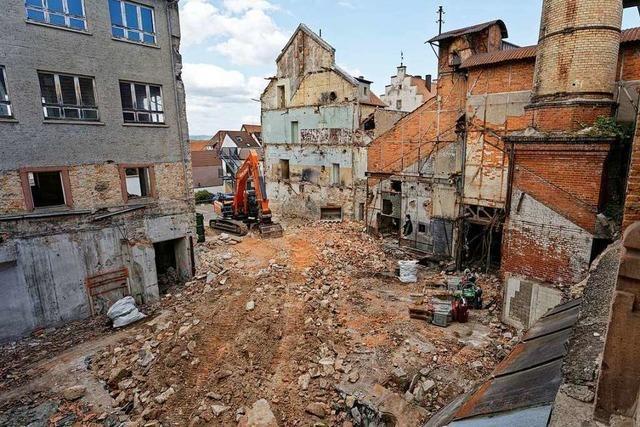 Fotos: Die alte Lederfabrik in Endingen wird abgerissen