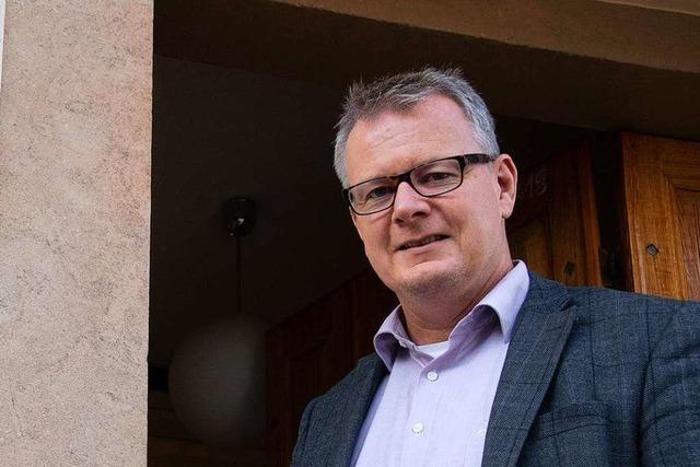 Sulzburgs Bürgermeister Dirk Blens kandidiert bei der Wahl 2021