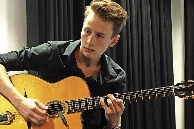 19-jähriger Musiker erhält Stipendium