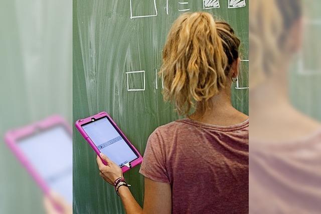 Schulen steuern stramm auf die Digitalisierung zu