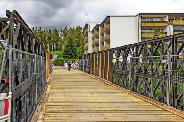 Die lauteste Brücke in Schluchsee