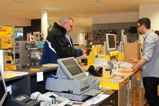 Wie gut funktioniert die Post-Kooperation mit Einzelhändlern?