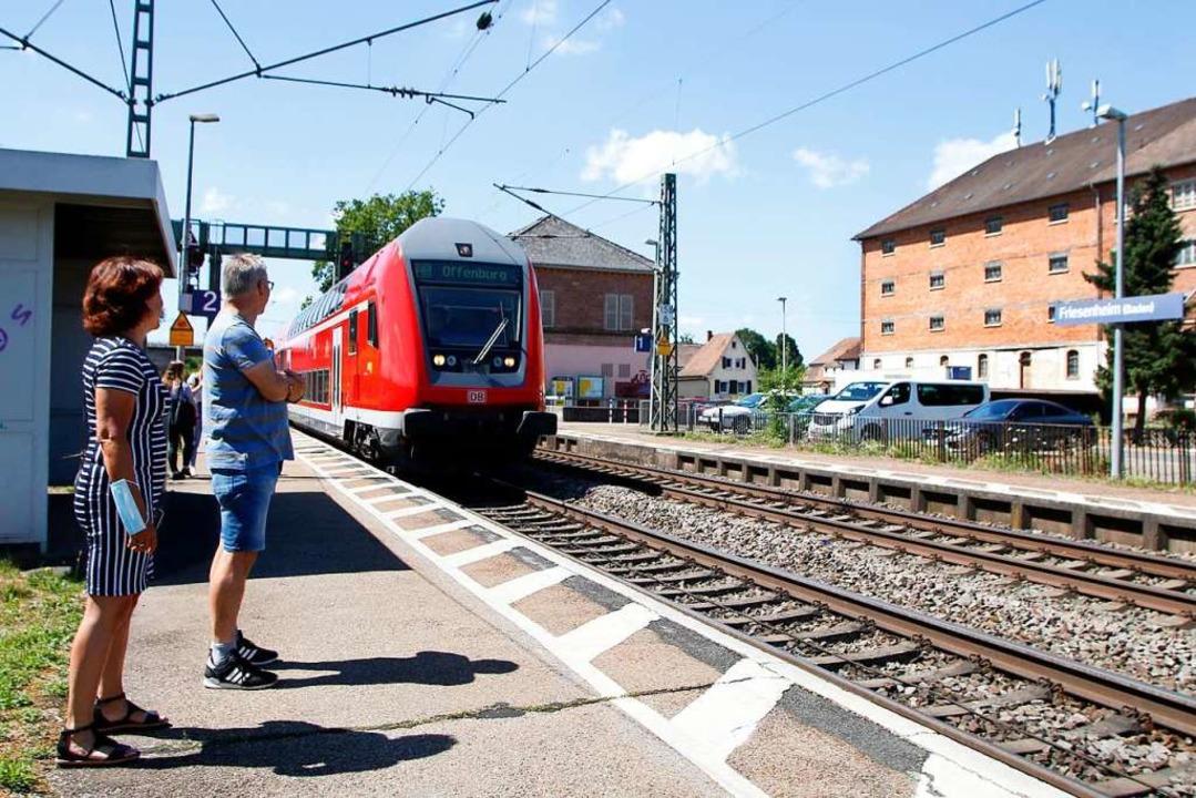 Der Bahnhof in Friesenheim  | Foto: Heidi Fößel