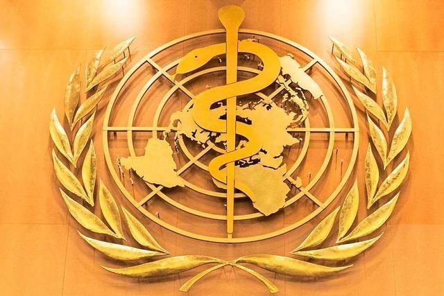 USA verlassen WHO - Hinweise auf Corona-Übertragung über die Luft