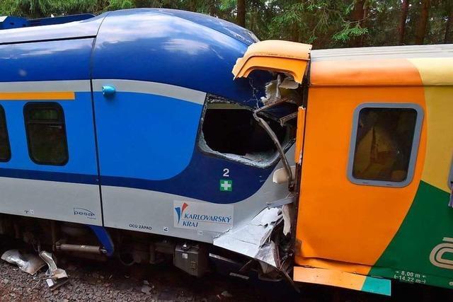 Zugunglück im tschechischen Erzgebirge – Deutscher unter den Toten