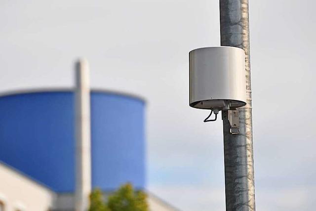Sensoren messen das Klima im Raum Basel