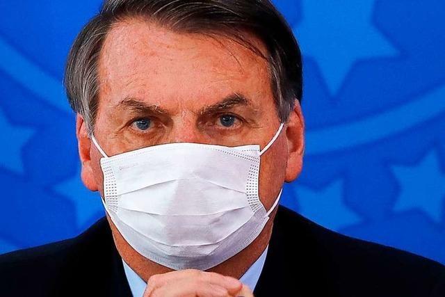 Bolsonaro bleibt der oberste Verharmloser – auch nach seinem Corona-Befund