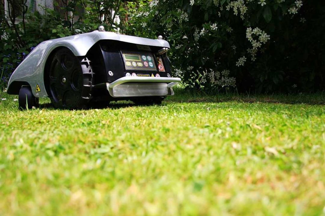 Gartenbesitzer schätzen die Bequemlichkeit von Mährobotern    Foto: IDN (Adobe Stock)