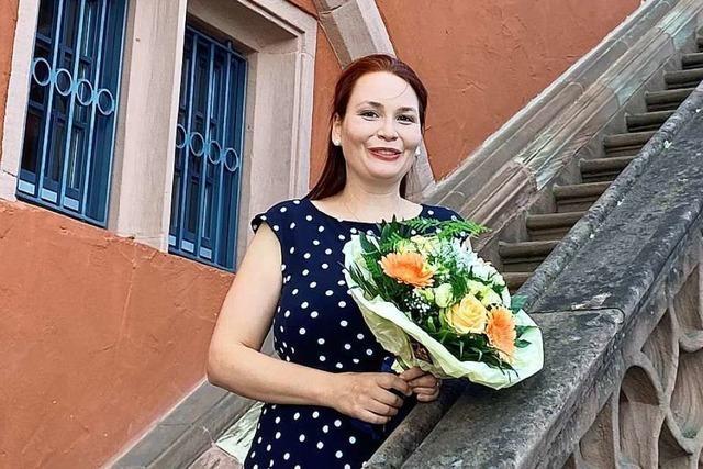 Cornelia Lanz ist die neue Leiterin des Kulturamtes in Lahr