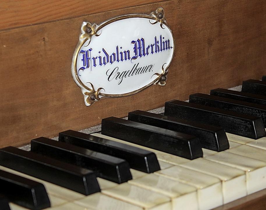 Die Merklin-Orgel muss dringen saniert werden.   | Foto: Rolf Reißmann