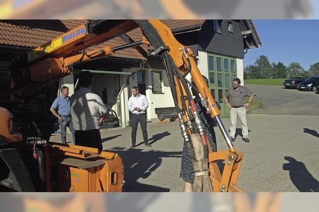 Gemeinderat Dachsberg freut sich über Zuschüsse
