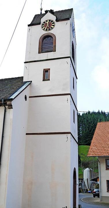 Die Handy-Funkantenne hätte im Wiesleter Kirchturm keinen Platz gehabt.     Foto: Robert Bergmann