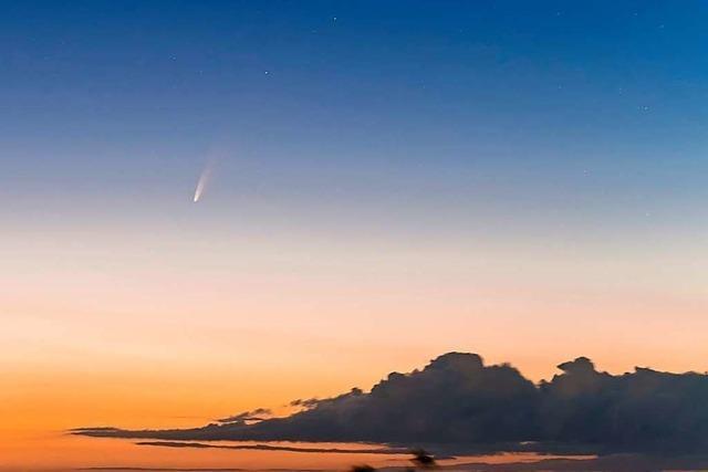 Fotografin erklärt, wie sie den Kometen Neowise abgelichtet hat