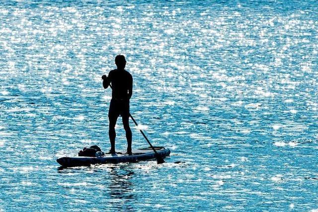 Stand-Up-Paddler im Bodensee ertrunken