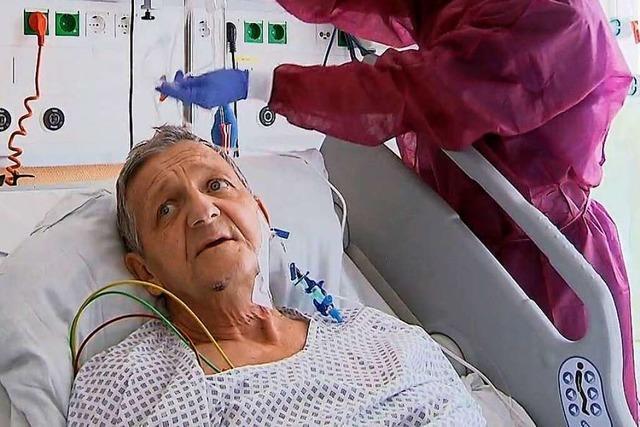 Grenzüberschreitende Hilfe rettete das Leben des Covid-19-Patienten Patrick Geisser
