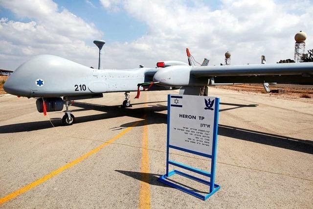 Die Bundeswehr will bewaffnete Drohnen