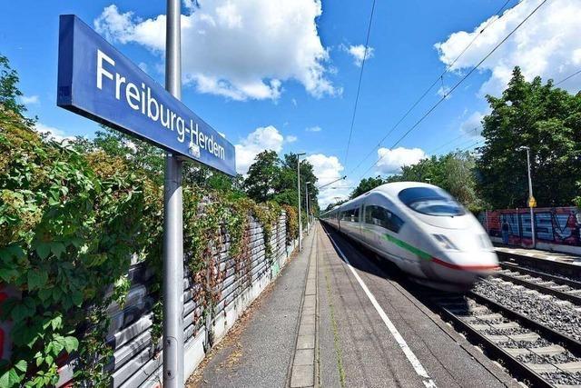 Der Ausbau der Rheintalbahn bringt Freiburg große Baustellen