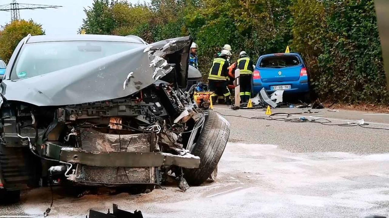 Bei dem schweren Unfall bei Lahr im Oktober 2019 wurde ein 54-Jähriger getötet.  | Foto: Wolfgang Künstle