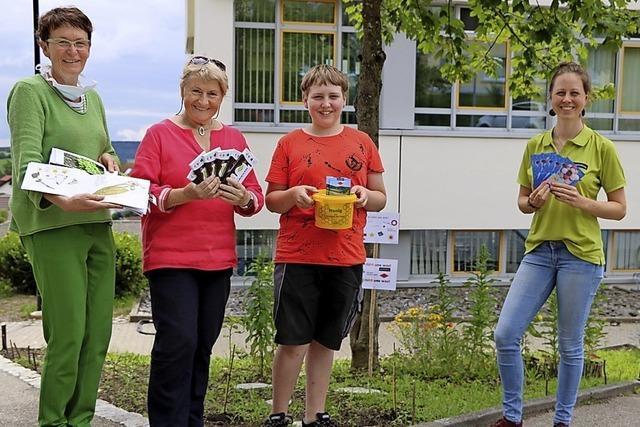 Bildungszentrum sorgt für eine blühende Oase