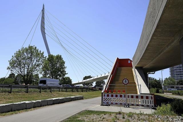 Brückenarbeiten liegen im Zeitplan