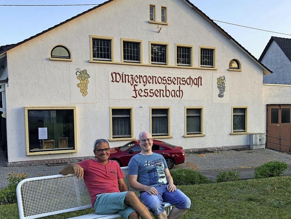 Markus Litterst und Stephan Seitz sind  Sprecher BI Alte WG  | Foto: Cornelia Weizenecker