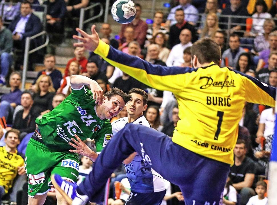 Von der Handball-Normalität ist die Bundesliga noch weit entfernt.  | Foto: Andreas Gora