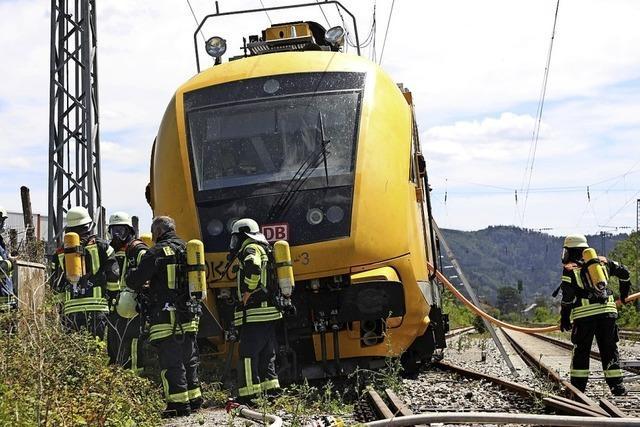 Die führerlose Fahrt eines Zuges endet in Gengenbach