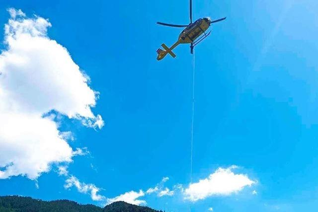 Vier Deutsche von Alpengipfel im Kleinwalsertal gerettet