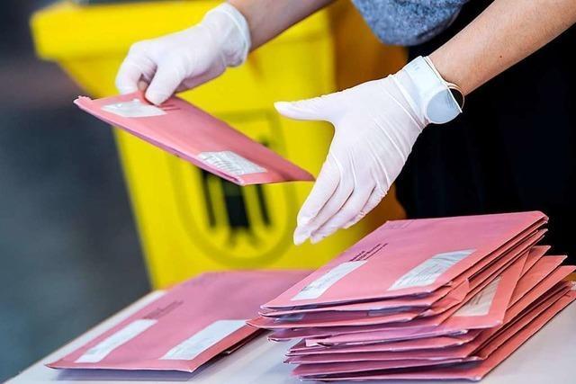 Am Sonntag wird im Landkreis Lörrach doppelt gewählt
