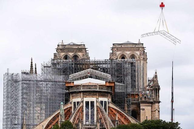 Notre-Dame wird originalgetreu wieder aufgebaut