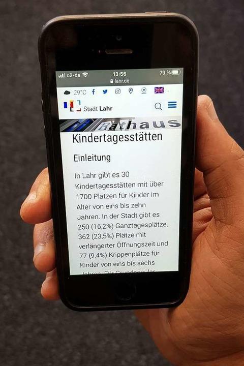 Nachrichten aus der Kita gibt es bald direkt aufs Smartphone.  | Foto: Christian Kramberg