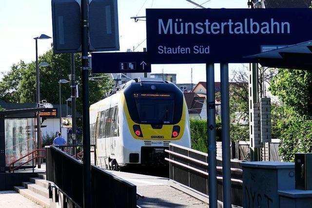 Warum die Münstertalbahn oft schon in Staufen endet