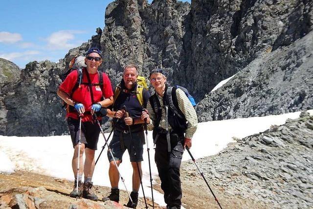 Kanderner macht aus einer Alpenüberquerung einen Spendenlauf