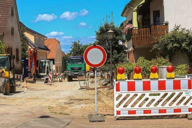 Kanalsanierung in Orschweier läuft bis Ende Januar