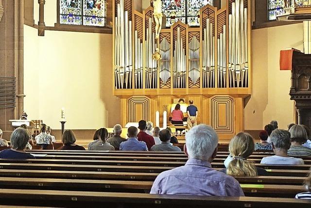 Orgelerlebnis unter Corona-Schutzatmosphäre