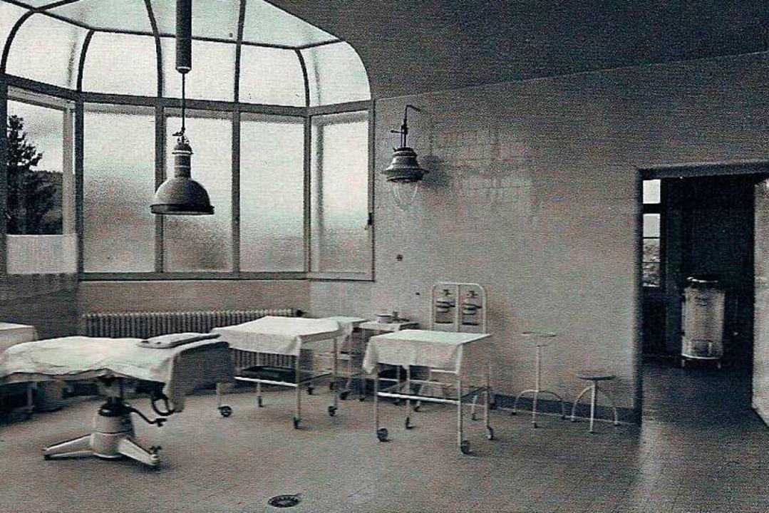 Blick in einen Operationssaal des Schopfheimer Krankenhauses  | Foto: privat