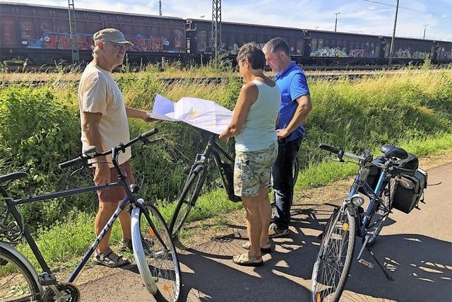 Bürgerinitiative Bahntrasse erläutert die Bahnpläne