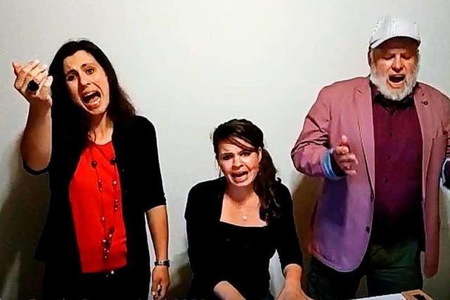 Die Fetscher-Family dichtet einen Corona-Song