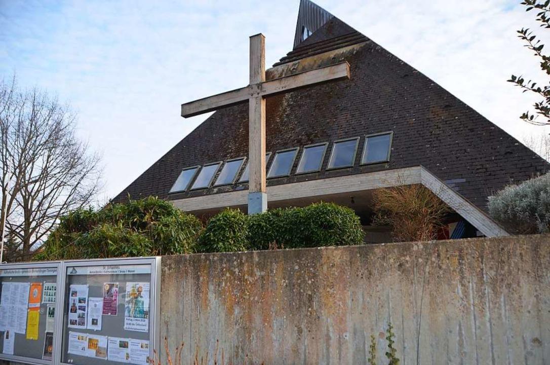 Die Kirche St. Johannes im Stadtteil Bürkle-Bleiche  | Foto: Gerhard Walser