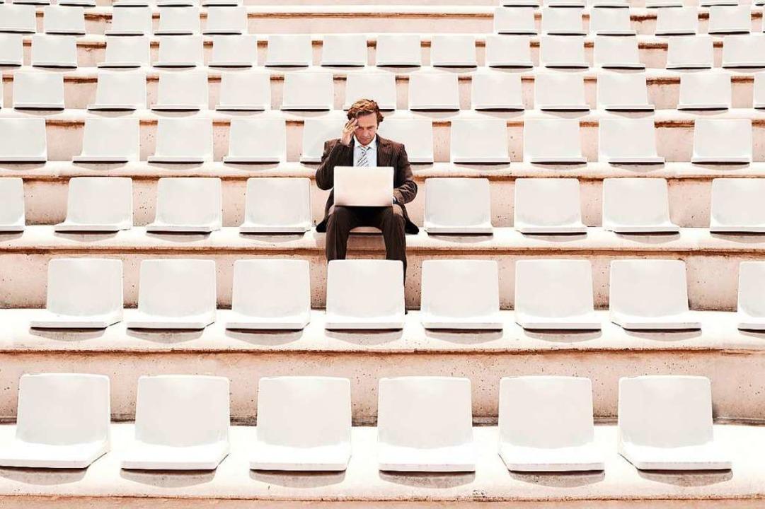 Auf einmal allein im Auditorium: So fü...en in diesem Semester an (Symbolbild).  | Foto: moodboard  (stock.adobe.com)