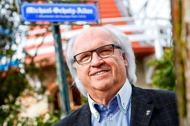 Michael Scholz war der erste Mitarbeiter im Europa-Park in Rust