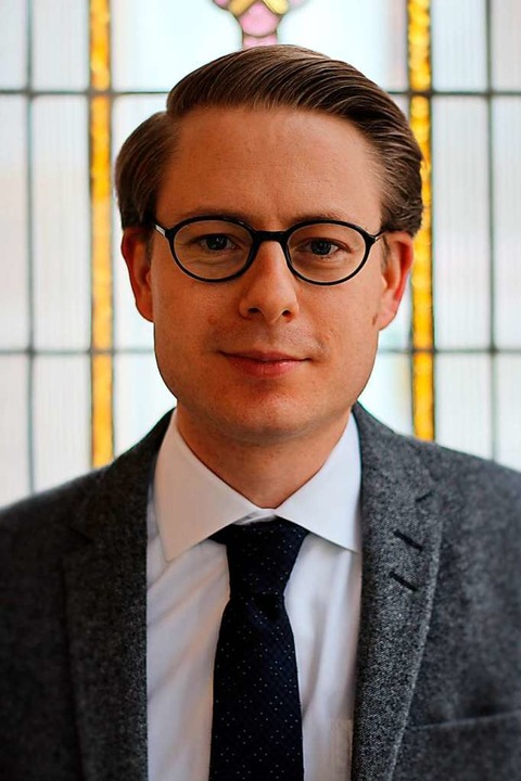 Jan Felix Hoffmann lehrt am Institut für Zivilprozessrecht der Uni.    Foto: Uni Freiburg