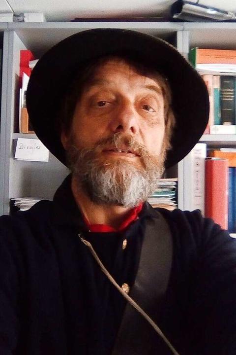 Wolfgang Hochbruck  ist Professor für ...anistik am Englischen Seminar der Uni.    Foto: Privat